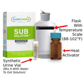 best fake pee with heat activator on the market