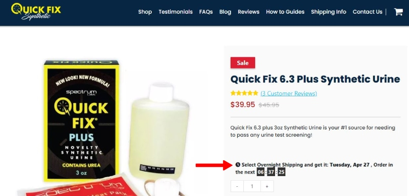 where to buy quick fix synthetic urine